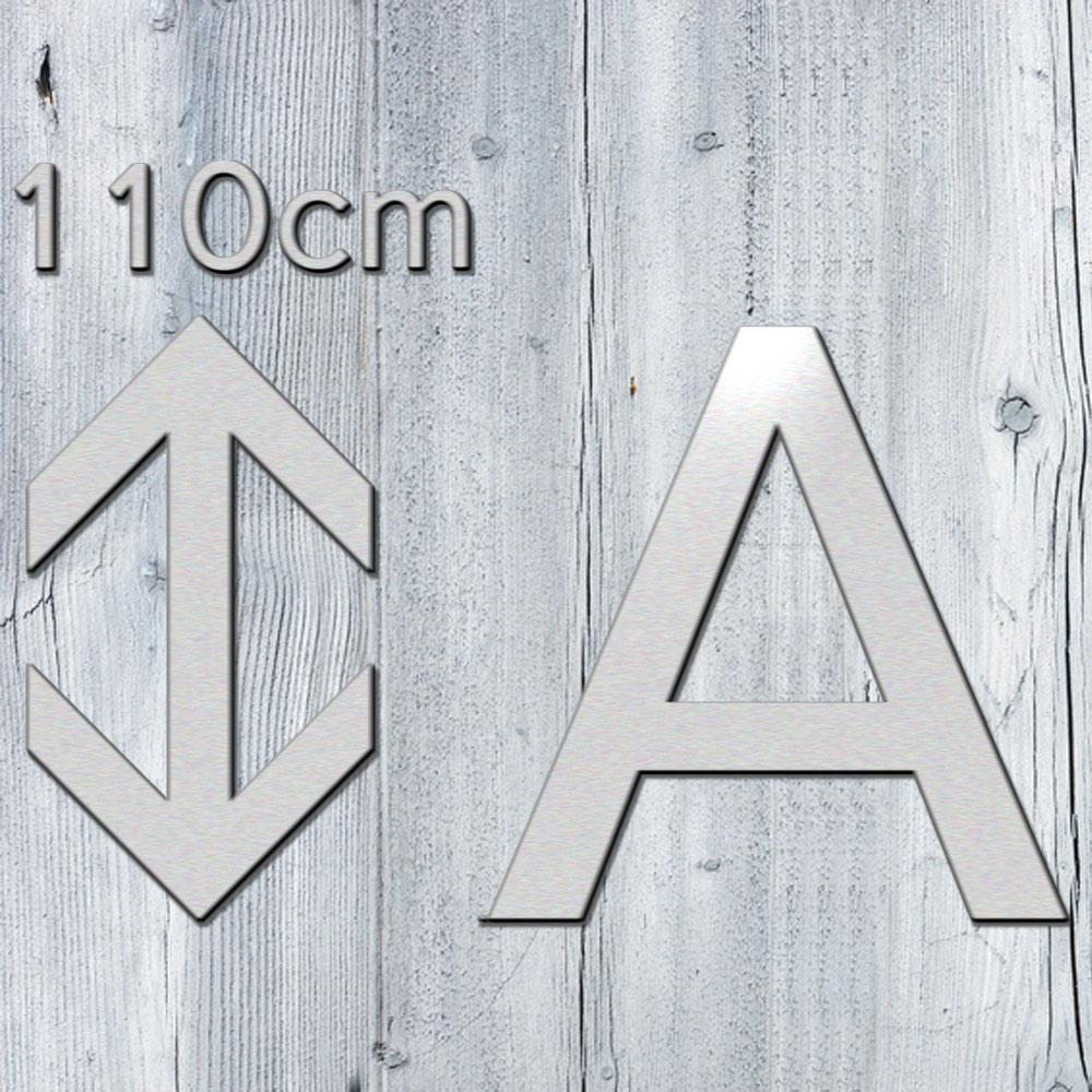 3d buchstaben 110 cm aus 3mm alu dibond kaufen. Black Bedroom Furniture Sets. Home Design Ideas