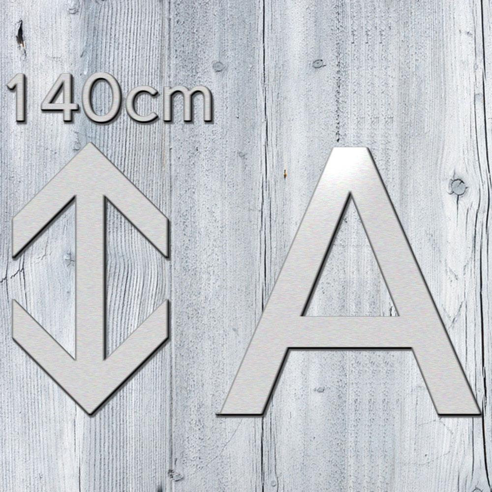 3d buchstaben 140 cm aus 3mm alu dibond kaufen. Black Bedroom Furniture Sets. Home Design Ideas