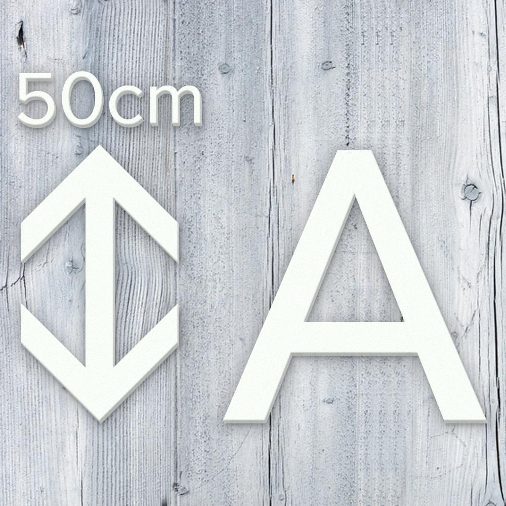 3d buchstaben 50 cm aus 3mm pvc kaufen. Black Bedroom Furniture Sets. Home Design Ideas